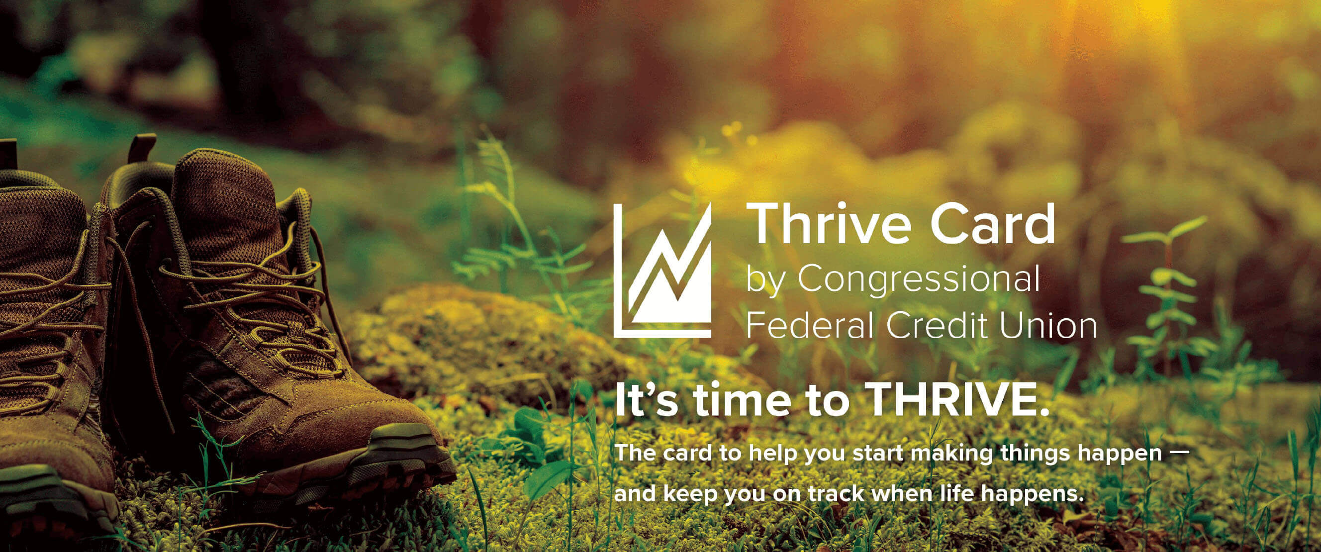 Thrive Card by Congressional Federal