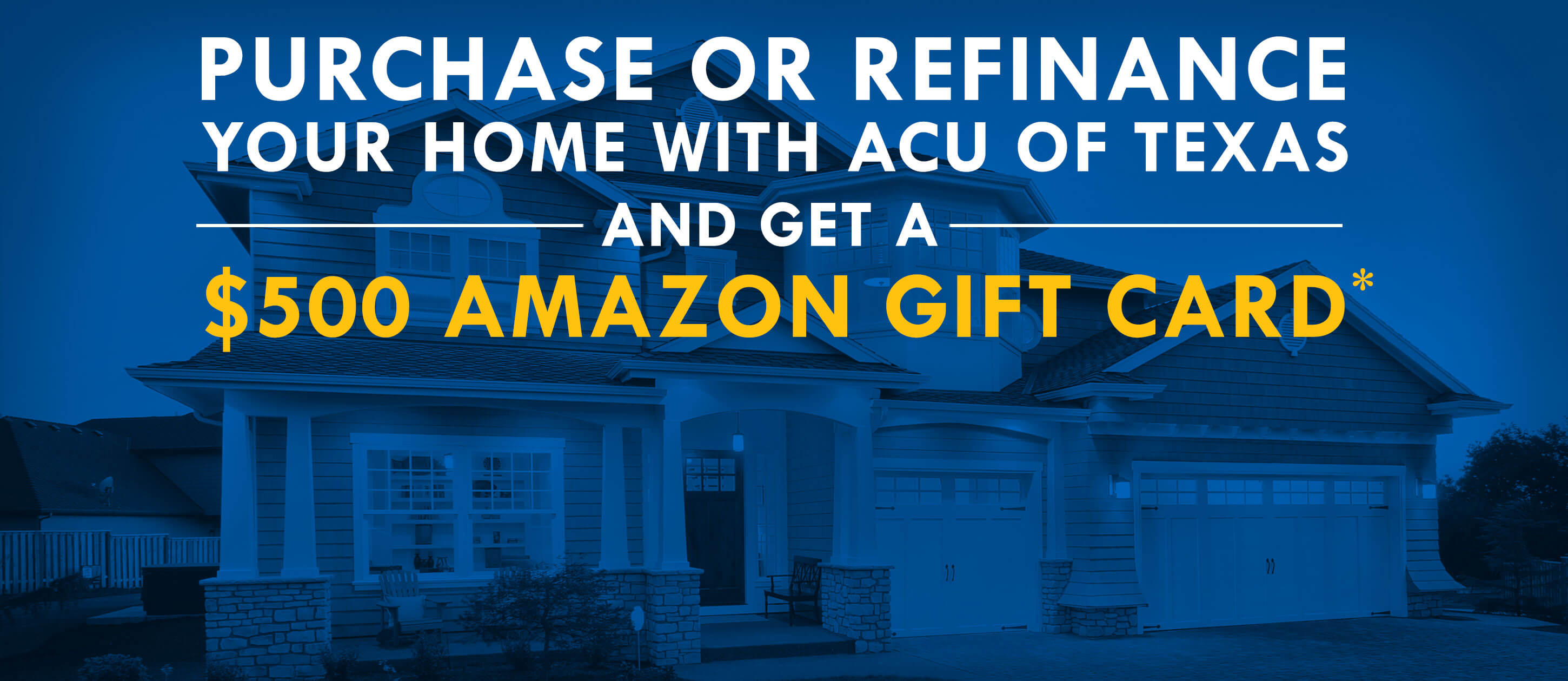 Mortgage $500 Amazon Gift Card Promotion