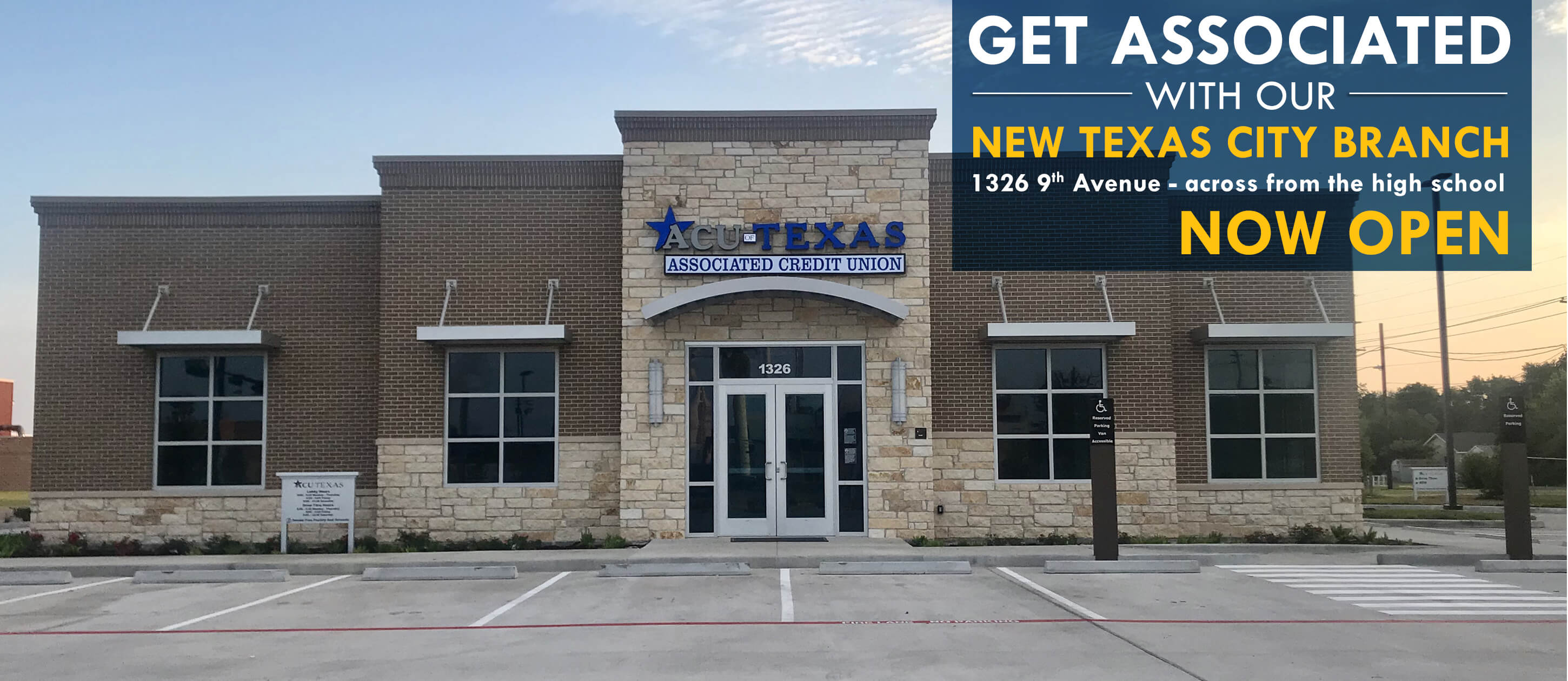 Texas City Branch Now Open