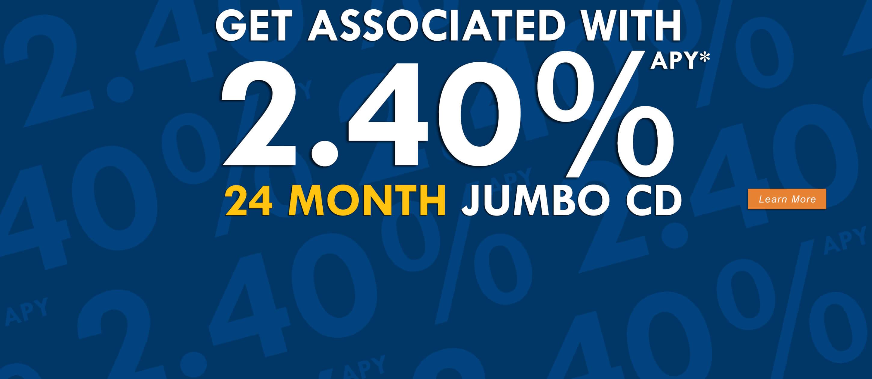 2.40% Jumbo CD