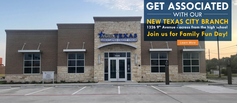 Texas City Branch Now Open