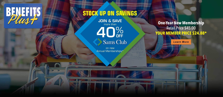 Benefits Plus Sam's Club Discount