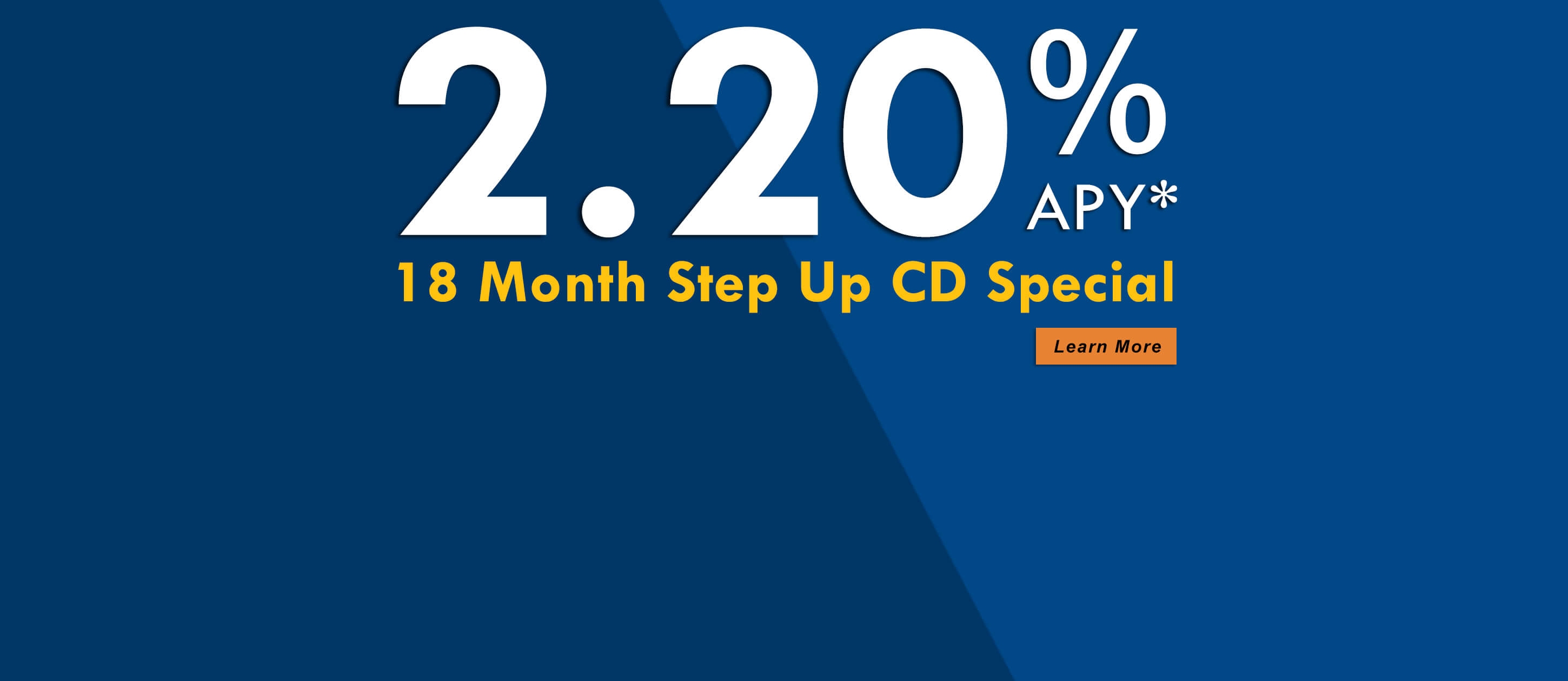 2.20% Step Up CD