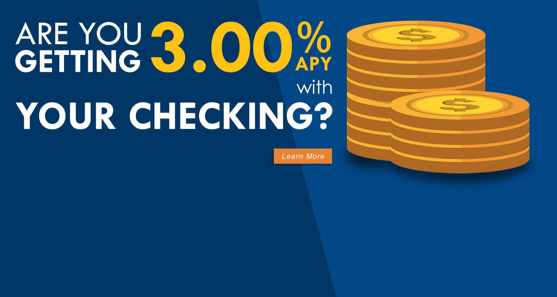 3.00% Premier Checking