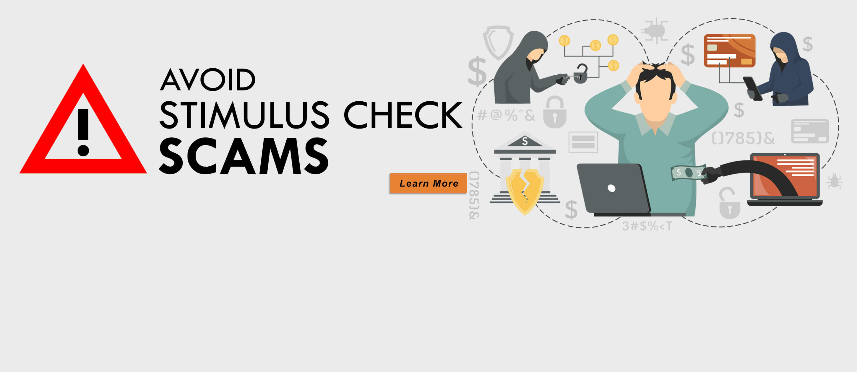 Avoid Stimulus Check Fraud