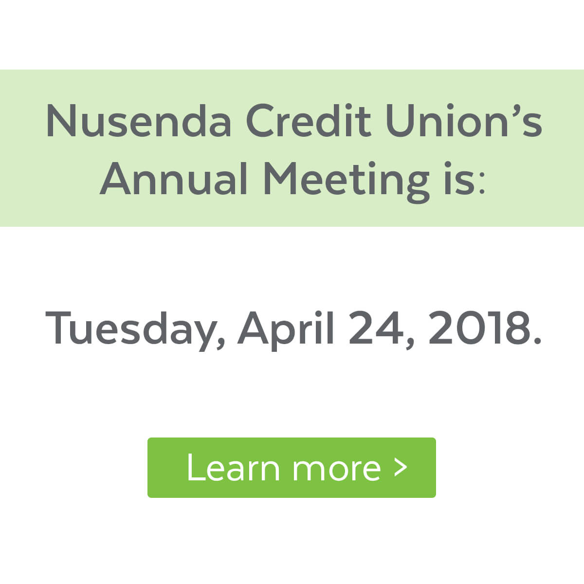 Certificate of deposit ira cds nusenda credit union nusenda credit unions annual meeting will be held on april 24 2018 click to 1betcityfo Images