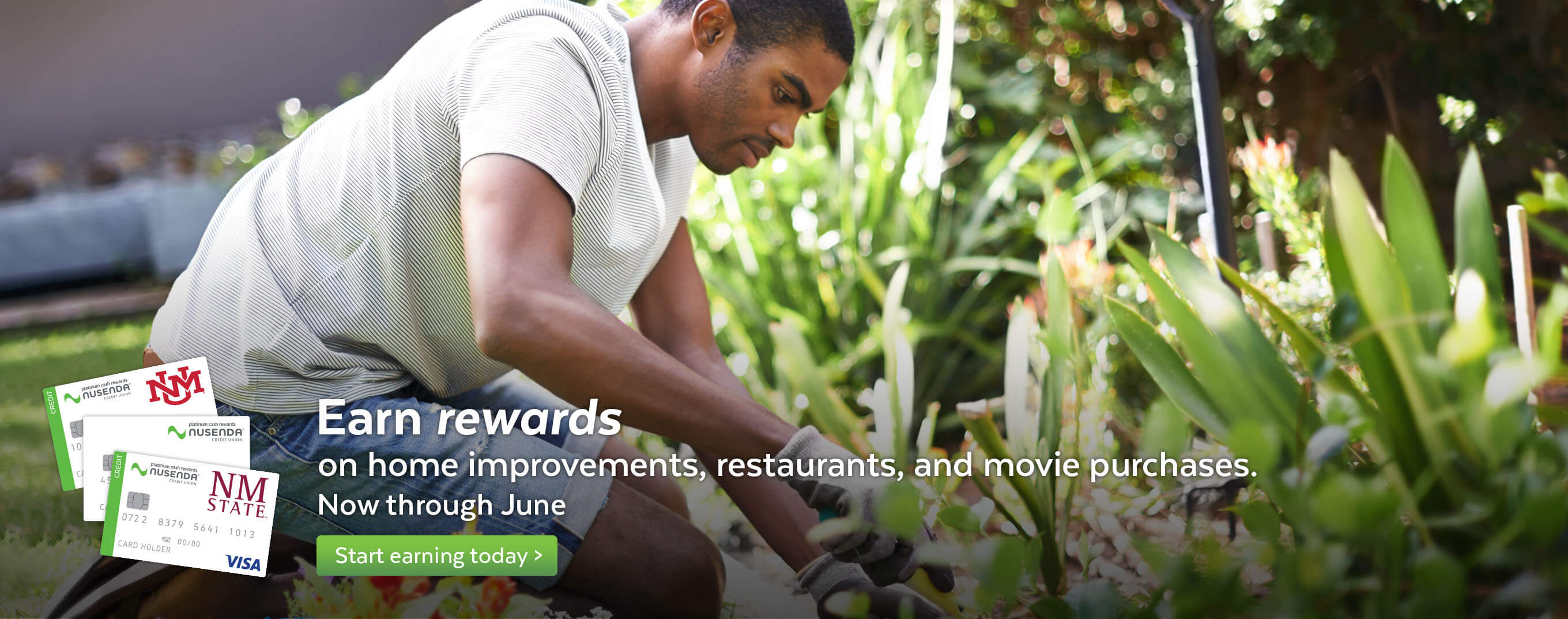 Earn rewards on restaurants, movies, and home improvement purchases.