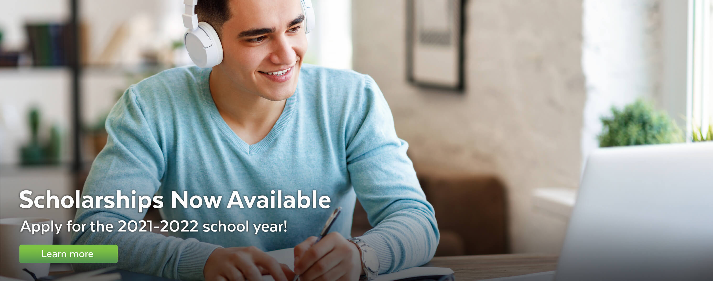Scholarships now available. Apply for the 2021–2022 school year!