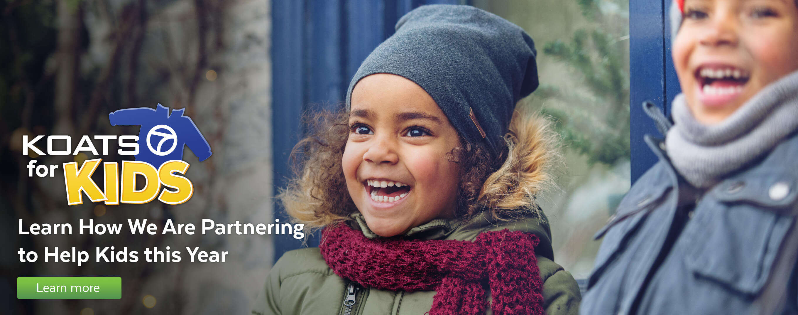 Learn how we are partnering to help kids this year.