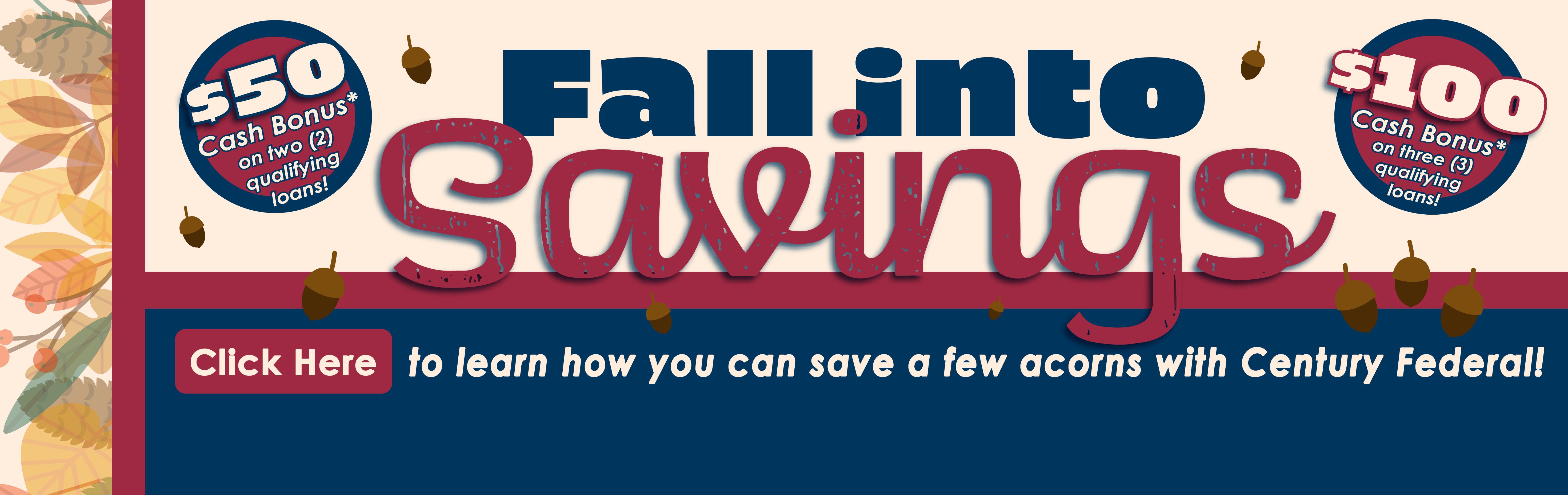 2020 Fall into Savings