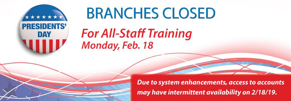 February 18 Closed