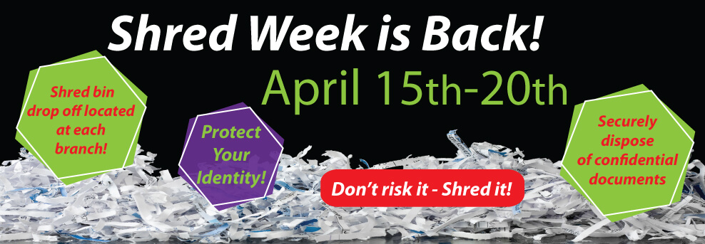 Shred Week at WCCU