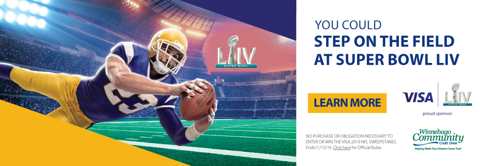 VISA Card Holders Could Win a Trip to Super Bowl LIV