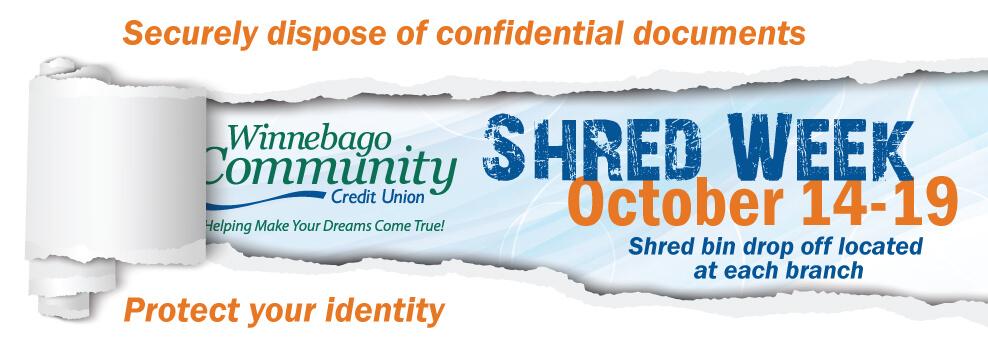 Shred Week at WCCU
