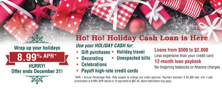 Ho! Ho! Ho! Holiday Loan