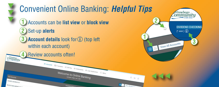 Online Branch Tips