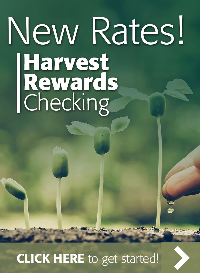 Cds and iras first farmers bank trust new rates harvest rewards checking click here to get started 1betcityfo Images