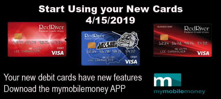 ... NEW debit cards are live ...