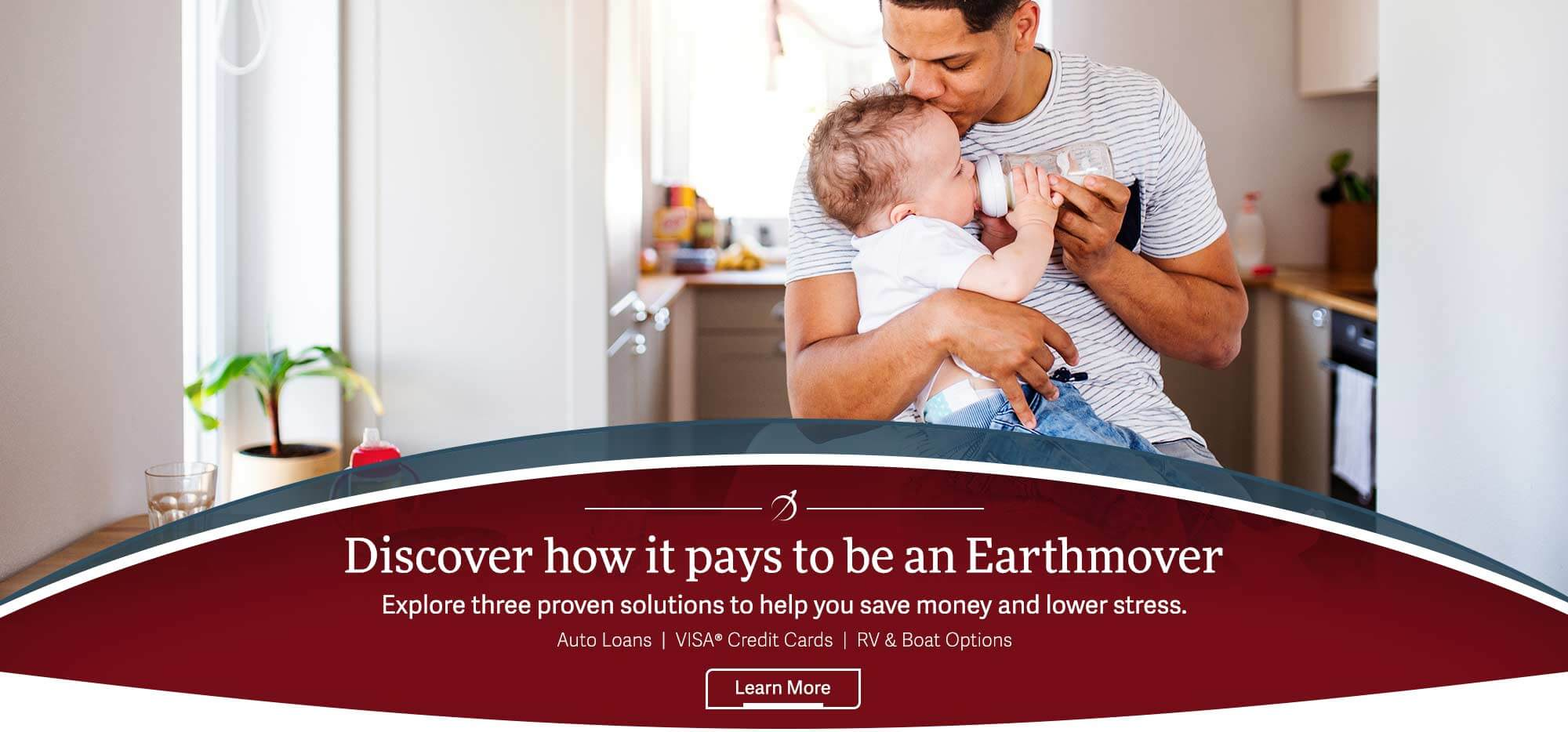 Discover how it pays to be an Earthmover. Explore three proven solutions to help you save money and lower stress. Auto Loans, VISA Credit Cards, RV & Boat Options. Learn more.