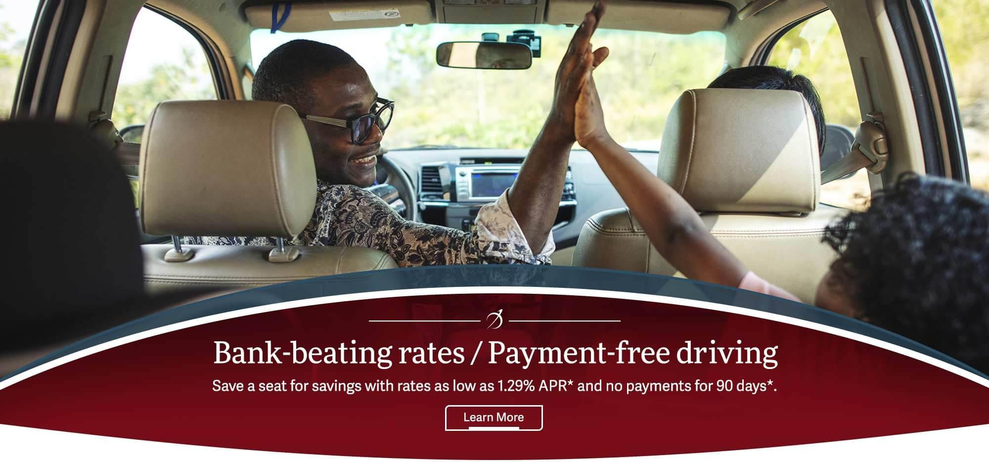 Auto Loans Bank-beating rates