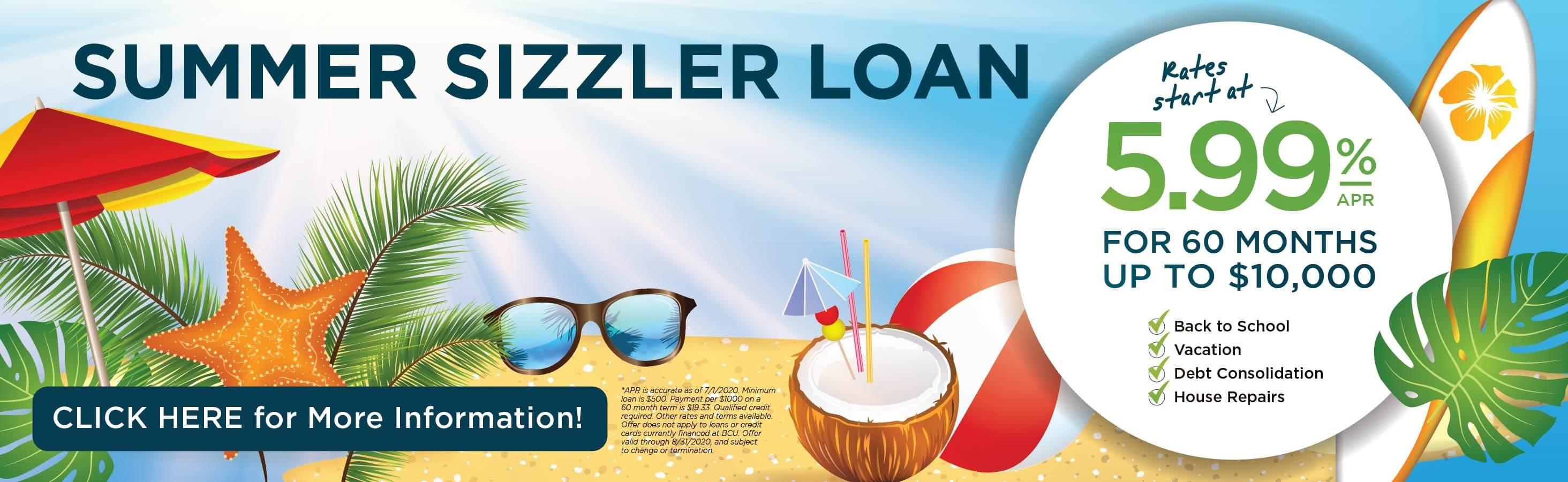 Summer Sizzler Loan