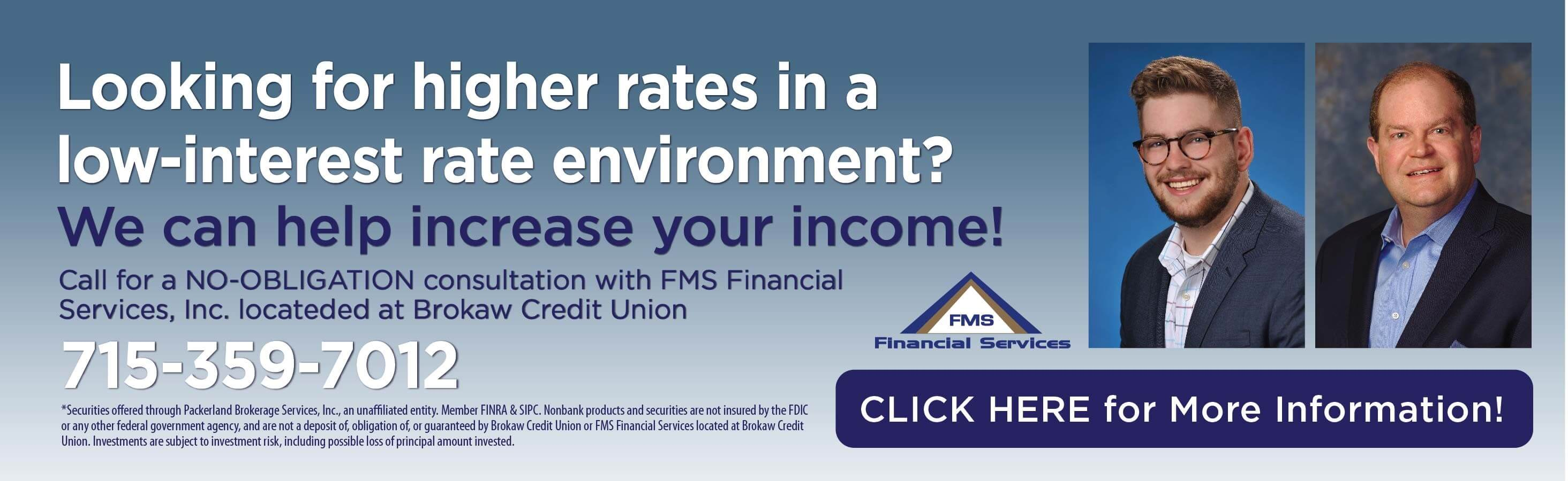 Free Consultation with FMS Financial Services