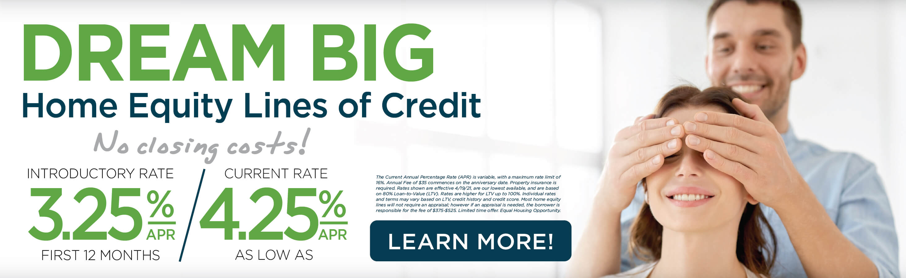Home Equity Line of Credit - No Closing Costs Offer