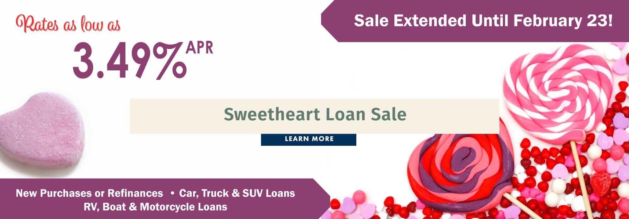 Sweetheart Loan Sale