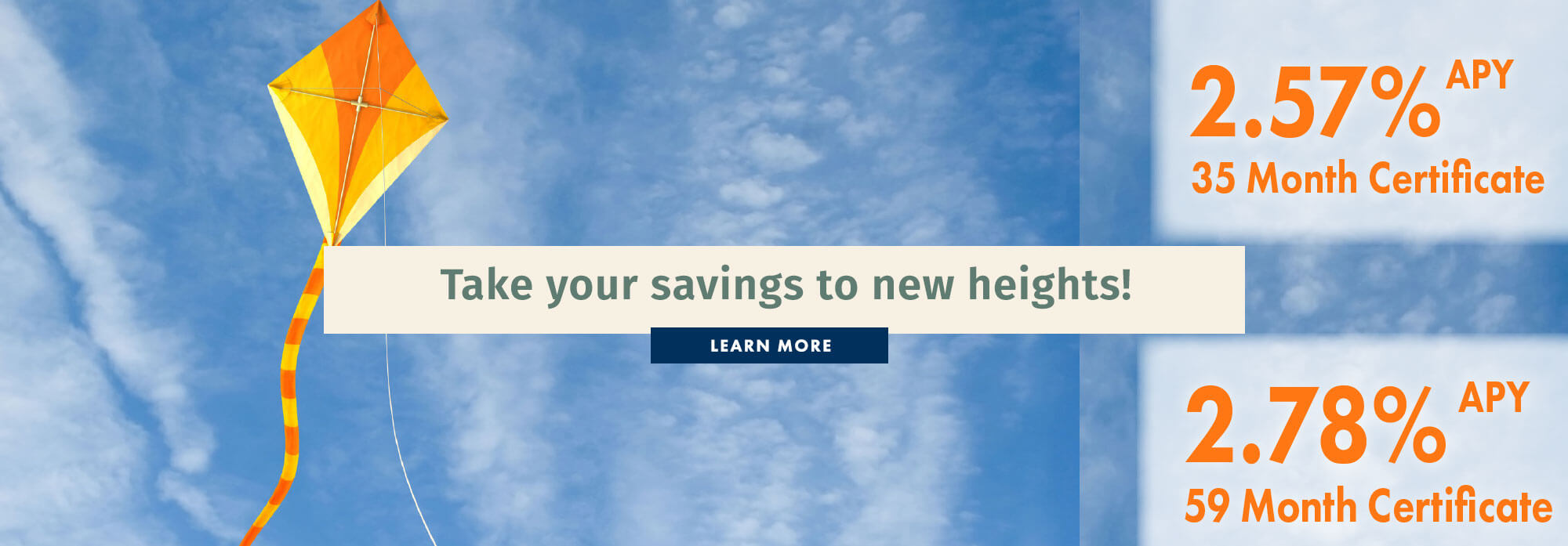 Take your savings to new heights!