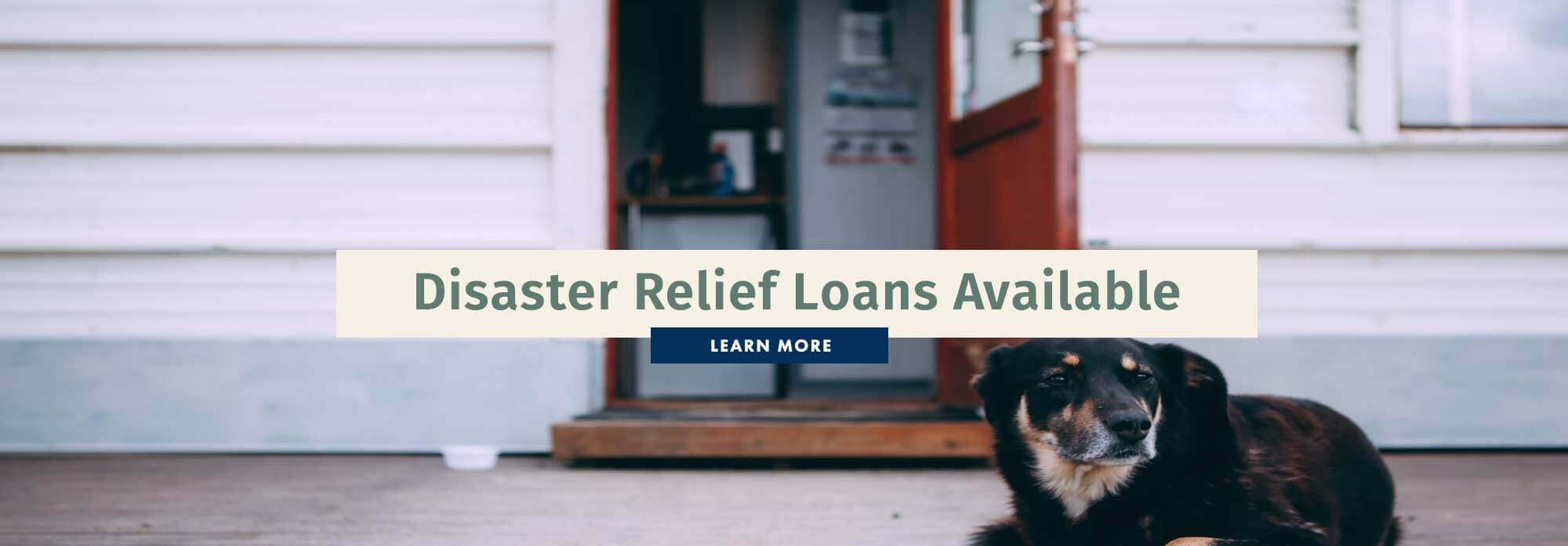 Disaster Relief Loans Available