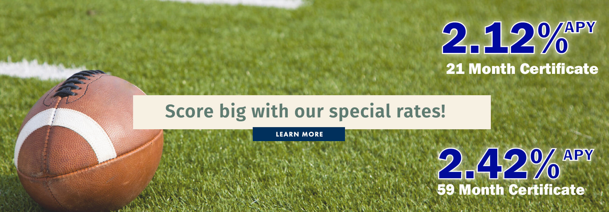 Score big with our special rates!