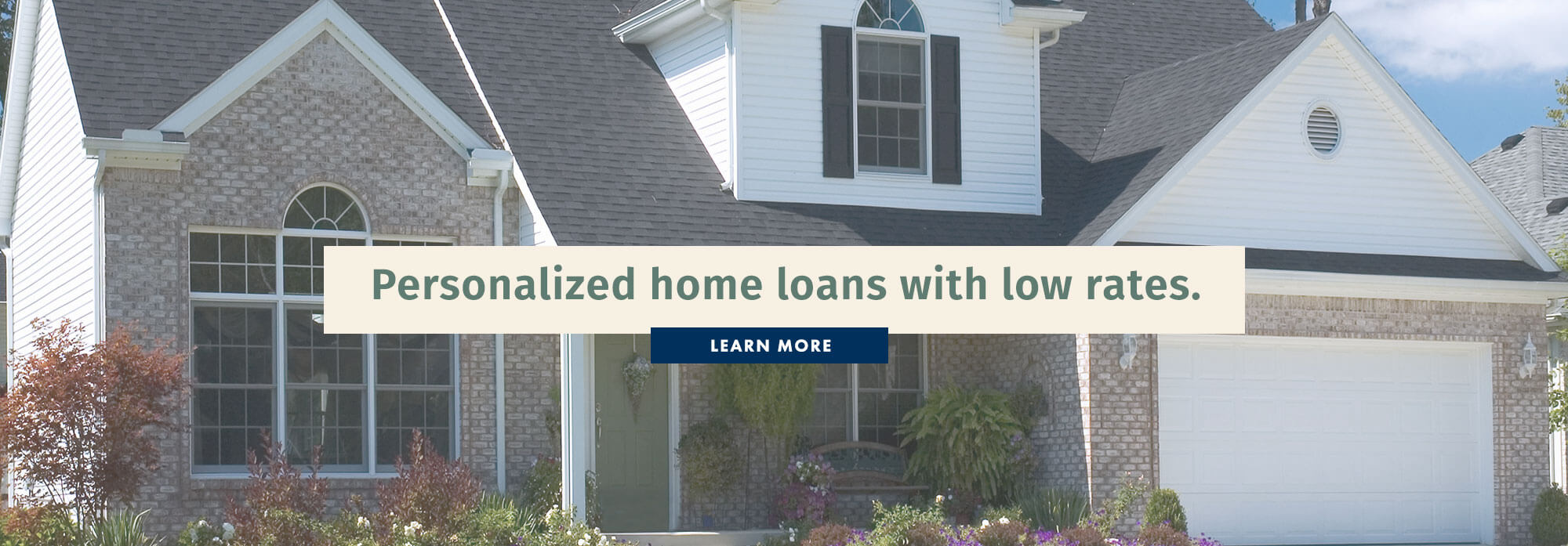 Personalized home loans with low rates