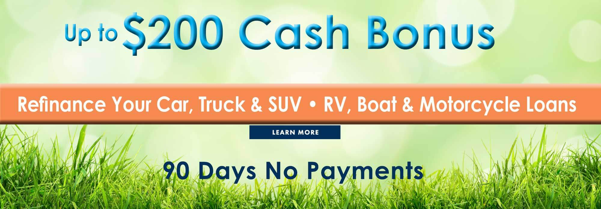 $200 Cash Bonus - Spring Refinance Sale