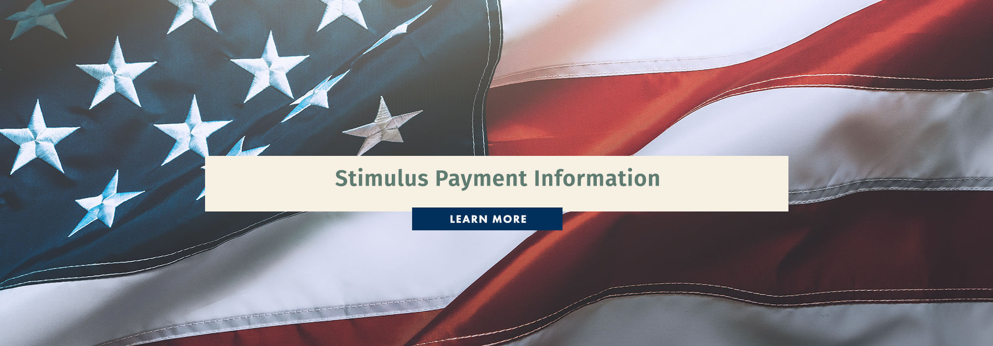Stimulus Payment Information. Learn More