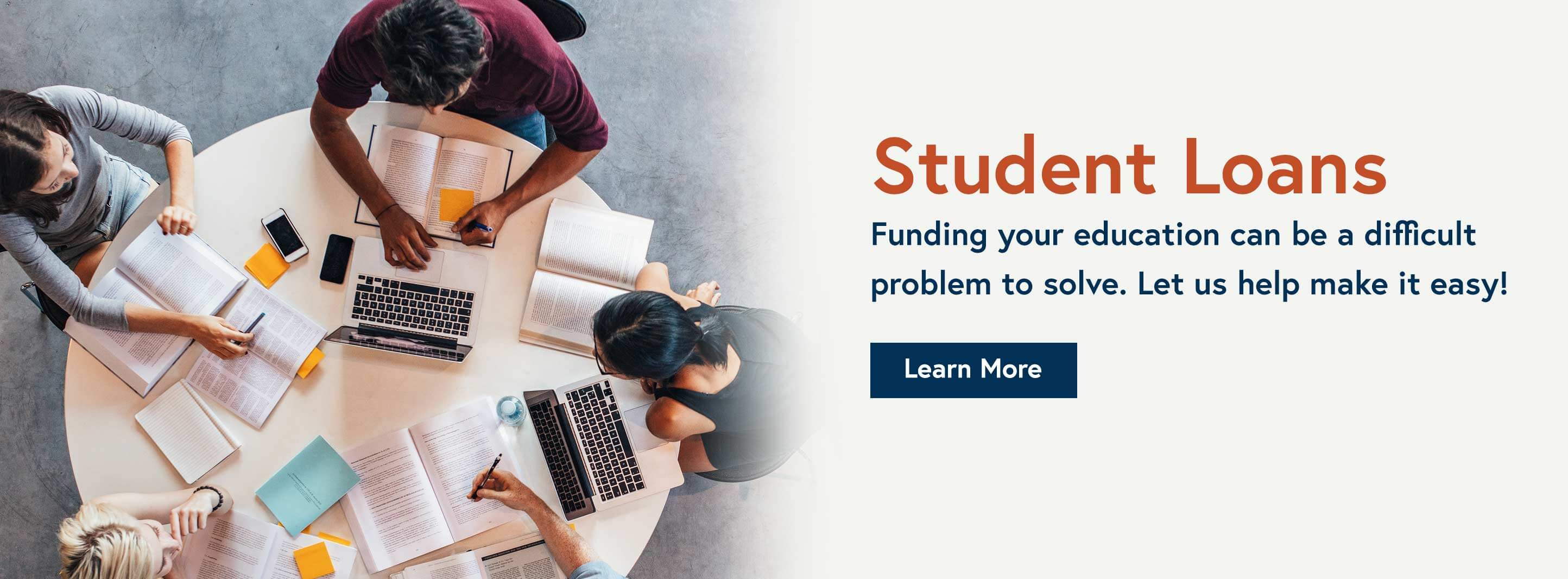 Funding Your Education can be a difficult problem to solve. Let us help make it easy! - Learn More