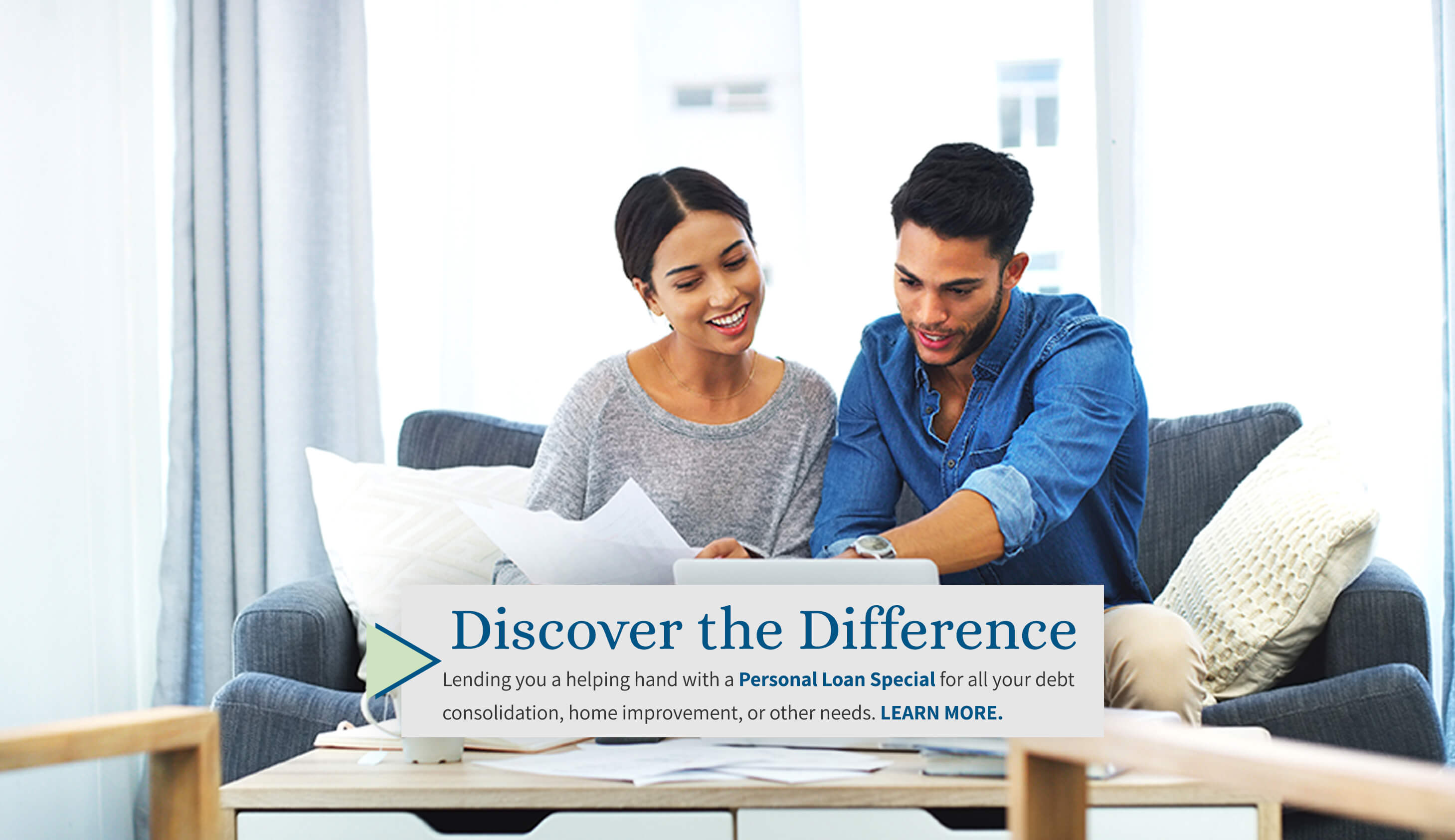 We can make it better together today. Discover the Difference of a Hickam FCU Personal loan, for all your debt consolidation or other financial needs. Learn More.