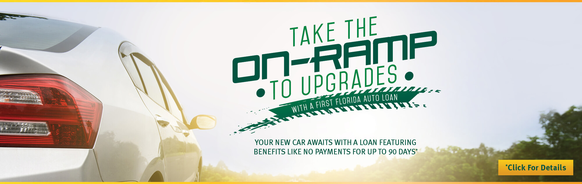 Your new car awaits with a loan featuring benefits like no payments for up to 90 days. Click for details
