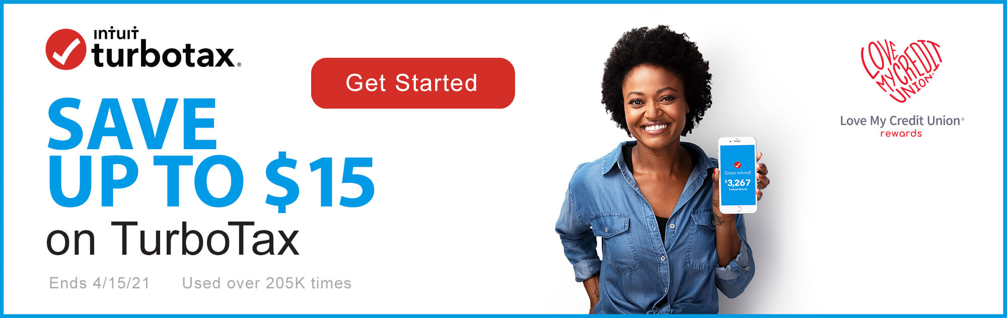 You could save up to $15 with TurboTax!