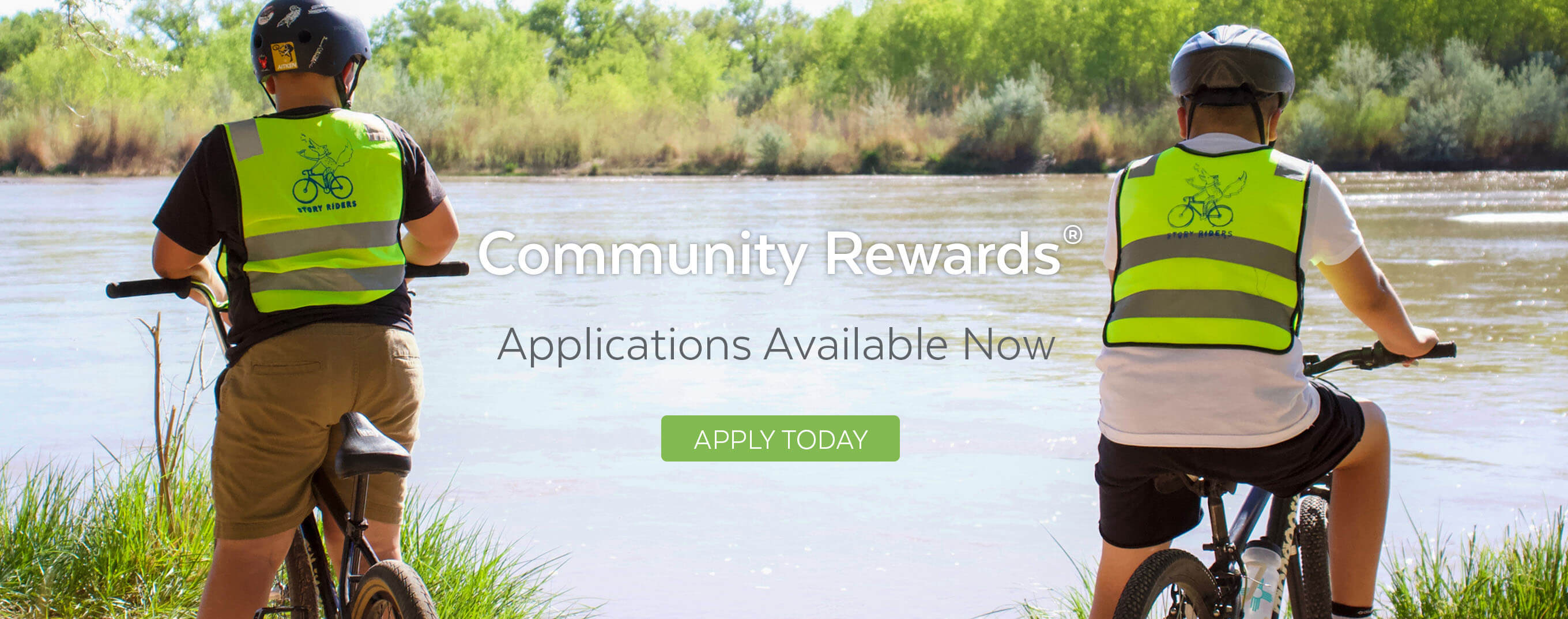 Apply for a Community Rewards grant.