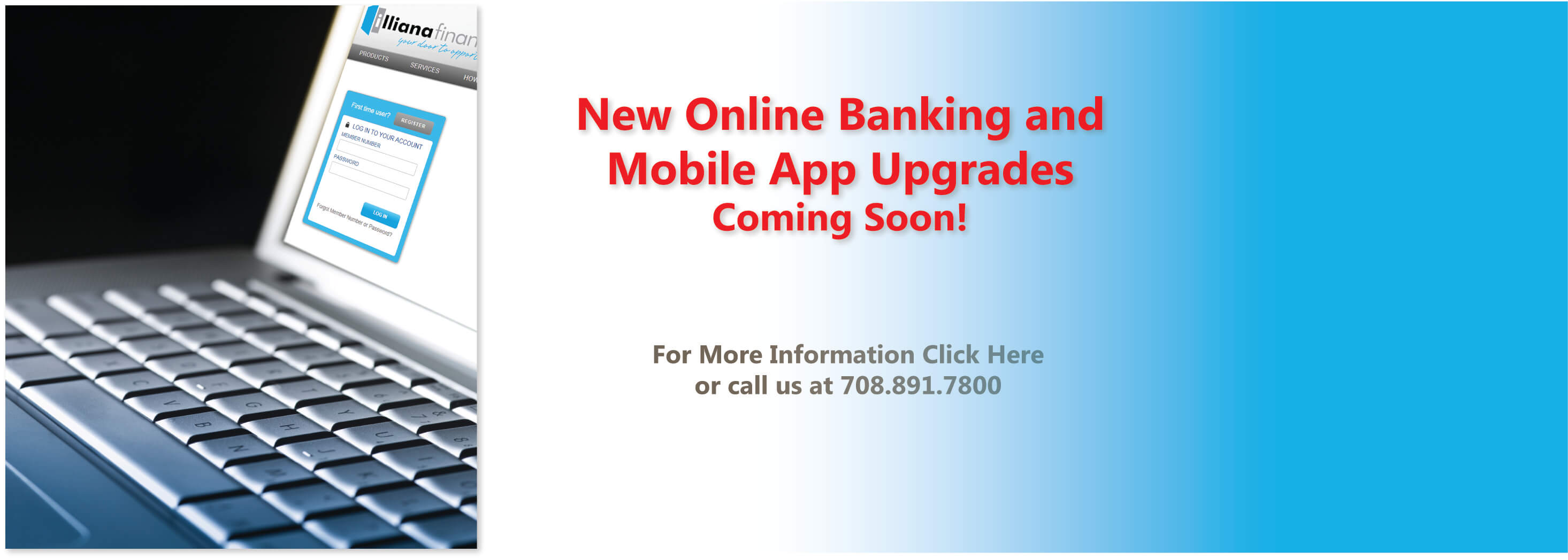 New Online Banking and Mobile App Upgrades