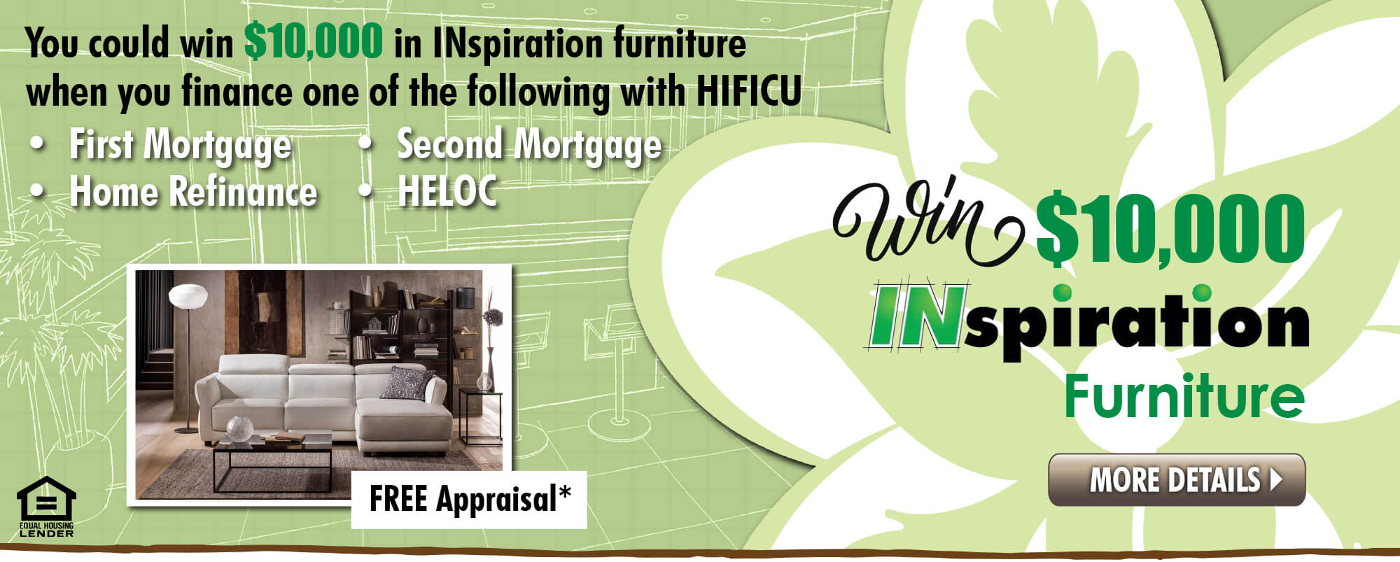 Win $10,000 worth of INspiration Furniture.  Click for more details!