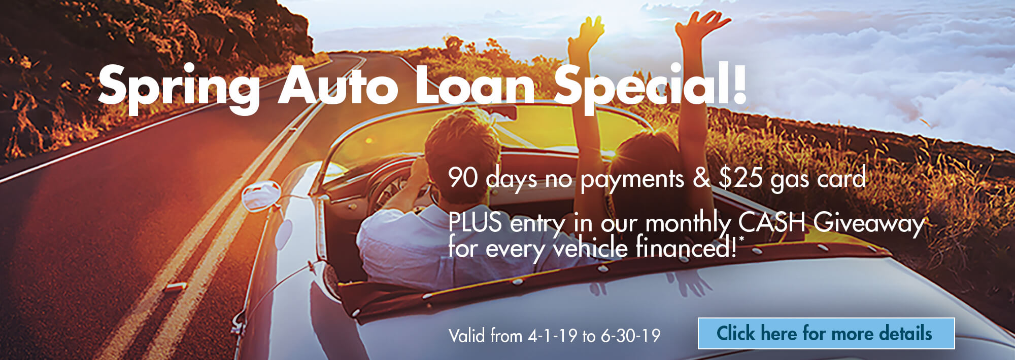 Spring Auto Loan Special