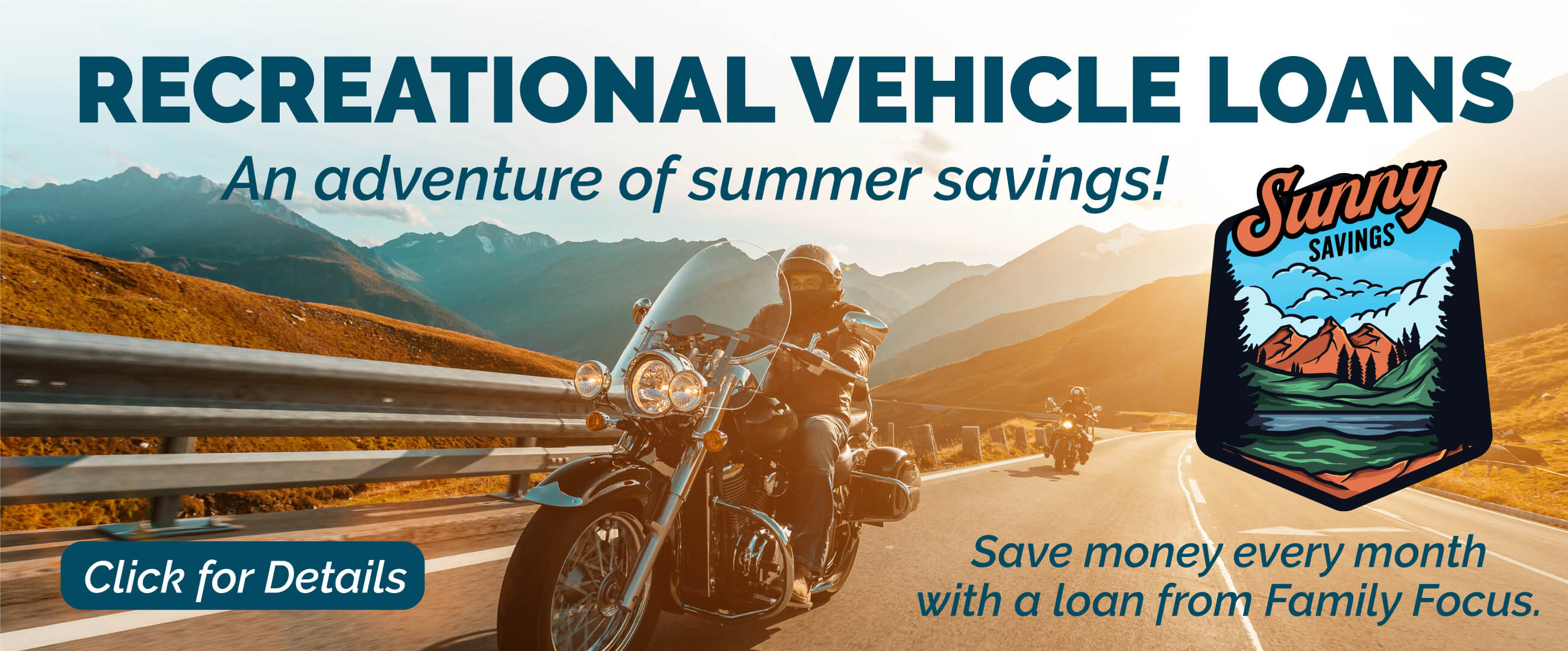 Recreational Vehicle Promotion