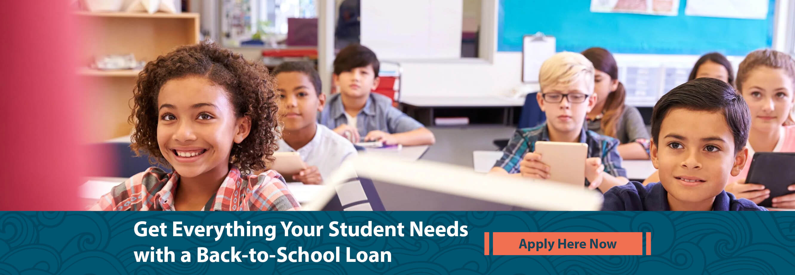 Get everything your student needs with our Back to School Loan. Apply here now