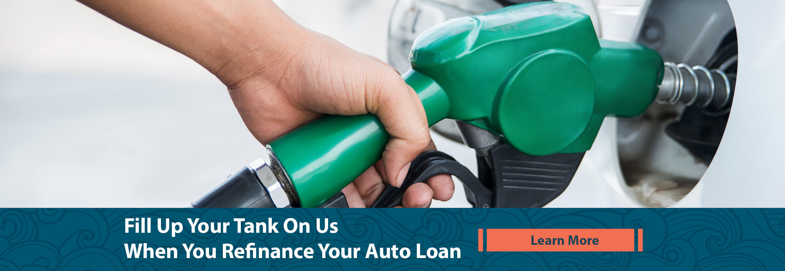 Fill Up Your Gas Tank On Us. Learn More