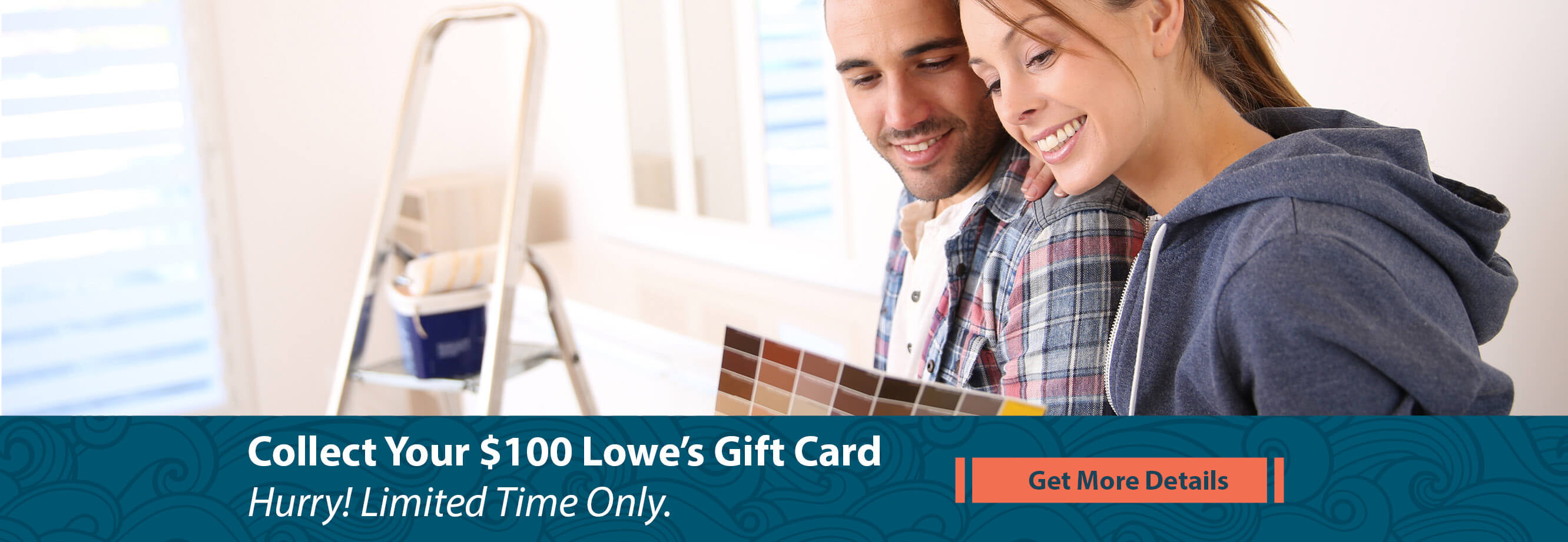 Collect Your $100 Lowe's Gift Card. Get Details Here