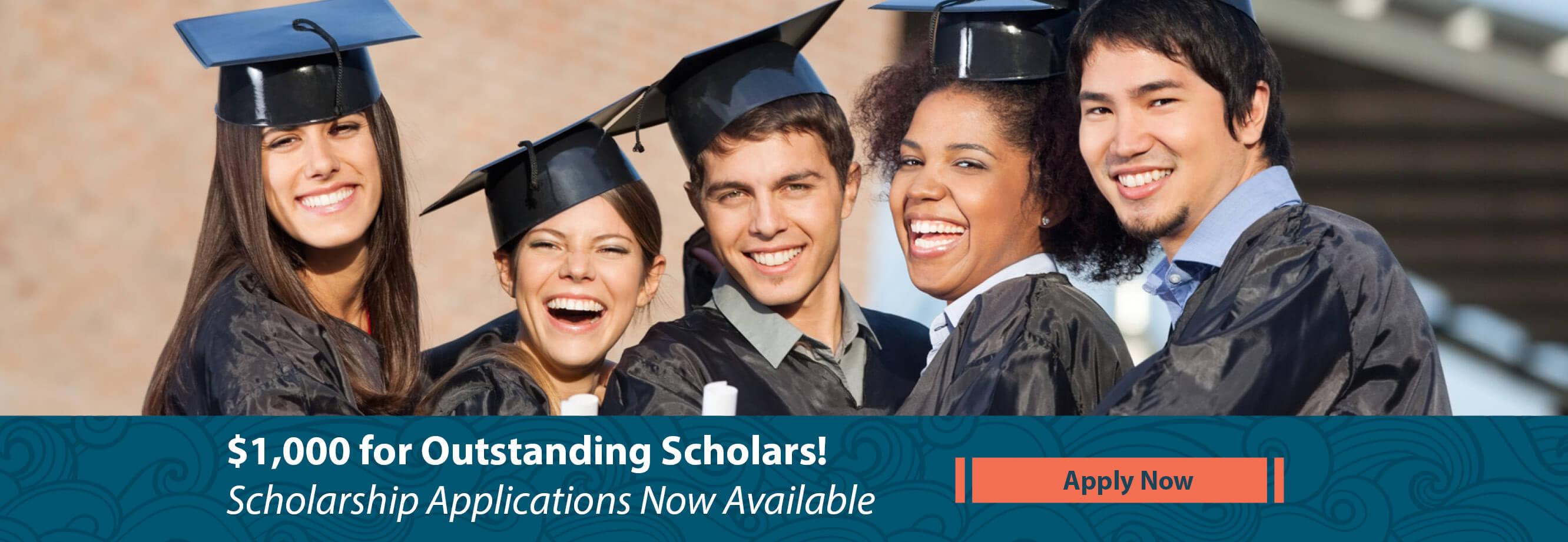 $1000 for Outstanding Scholars