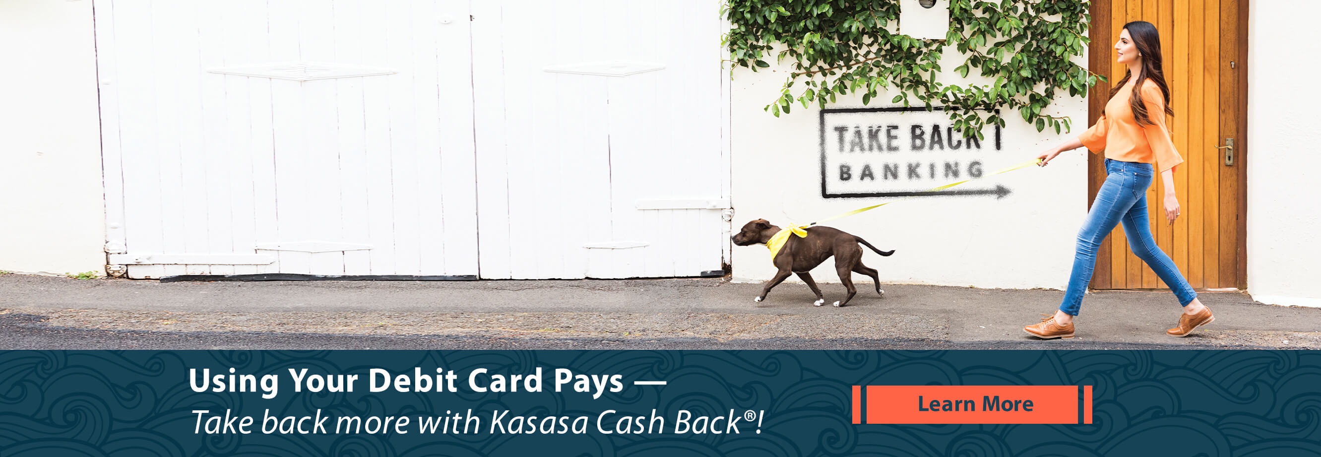 Using Your Debit Card Pays with Kasasa Cash Back
