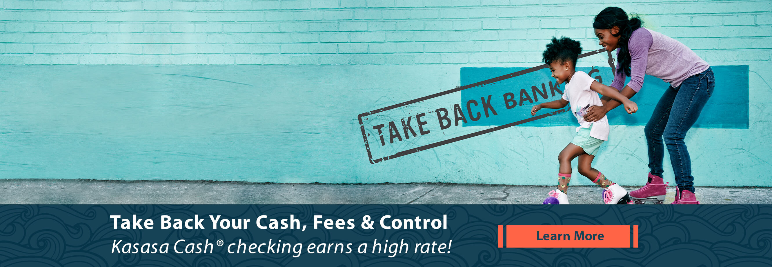 Earn really high dividends every month with our free Kasasa Cash checking.