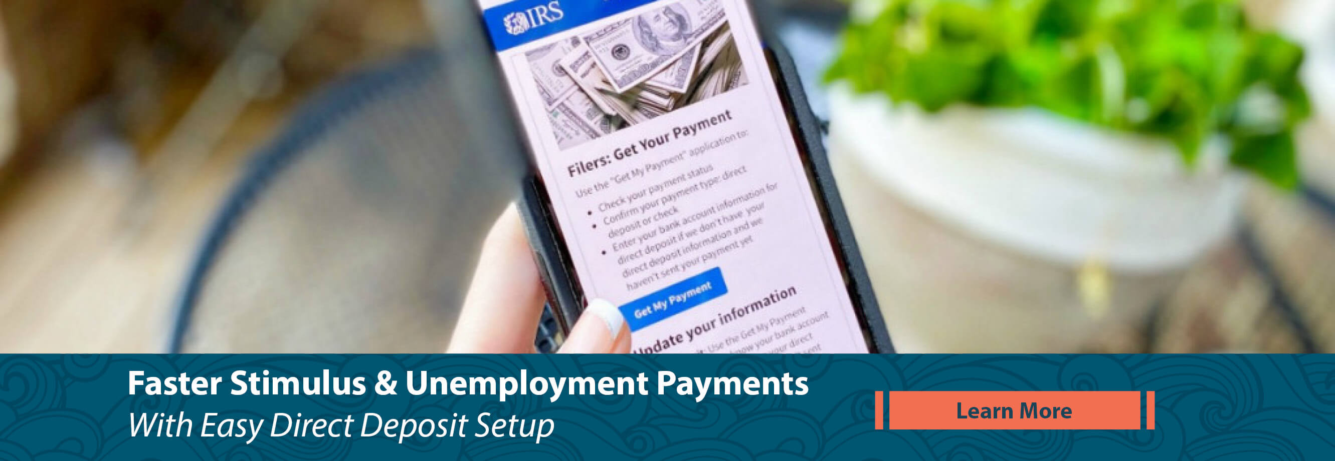 Get Stimulus & Unemployment Payments Faster